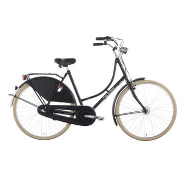 Bicicleta holandesa ORTLER VAN DYCK Negro 2018
